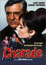 Charade, the best movie Alfred Hitchcock DIDN'T direct. With Cary Grant and Audrey Hepburn!