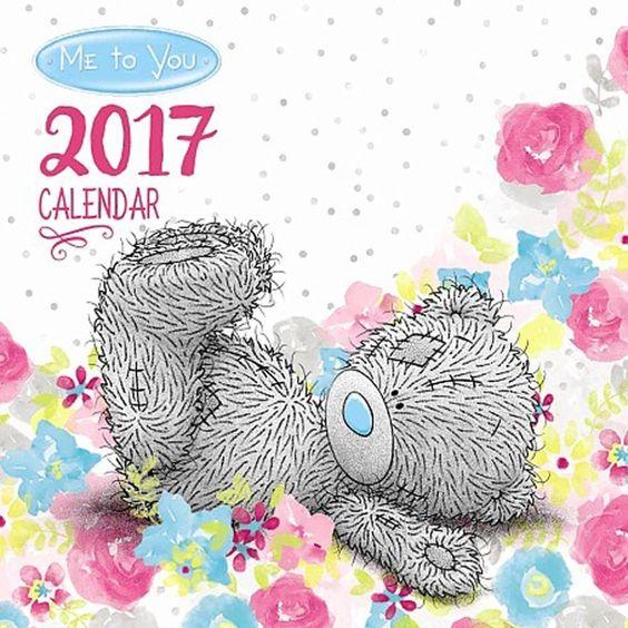 2017 Me to You Bear Classic Desk Calendar  £5.99