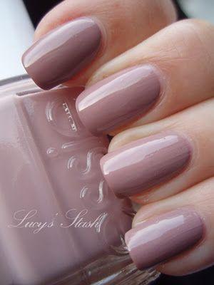 Lady like. Pink neutral. One of the easiest of Essie's peer sheers to apply, no streaks!