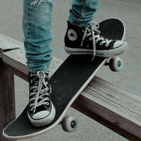 blaui #converse #graui #jacks #schuhe #schwarzi #skateboard ...