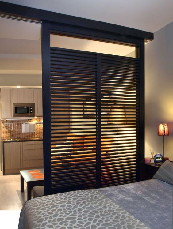 Cloisons amovibles s paratrices deco pinterest - Cloison amovible chambre ...
