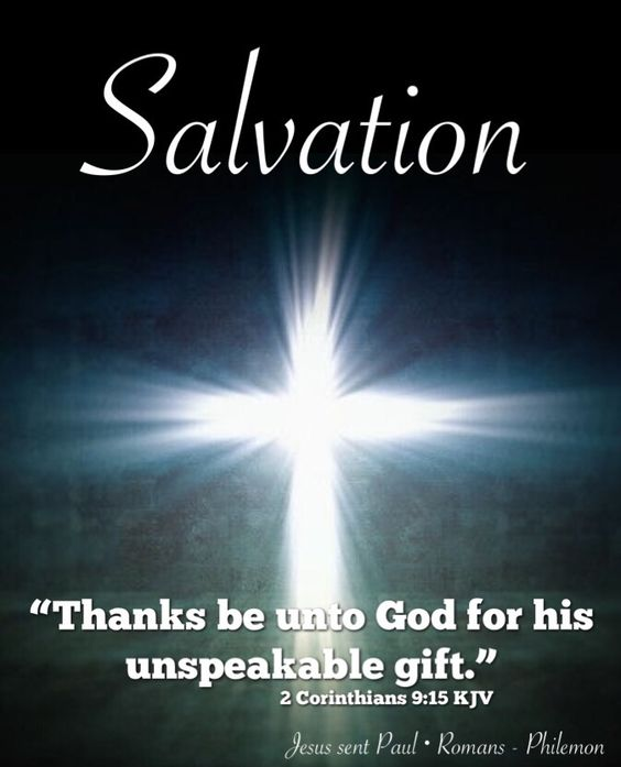 """Thanks be unto God for his unspeakable gift."""" 2 Corinthians ..."""
