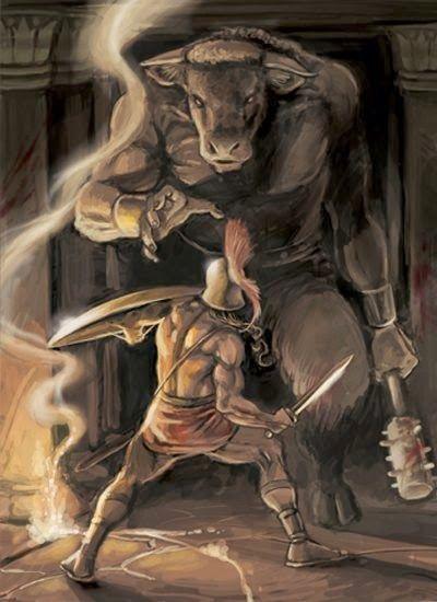 No te pierdas el Mito de Teseo y el Minotauro. La bestia que ocultaba el Rey Minos en el Laberinto hecho por Dédalo.