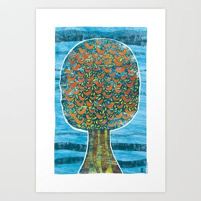 Tão Cheia de Vida Art Print by Elimabe - $17.99