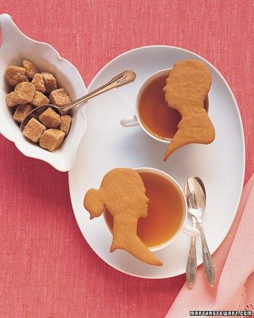 The dough for these cookies is firm, making it ideal to cut out in shapes.