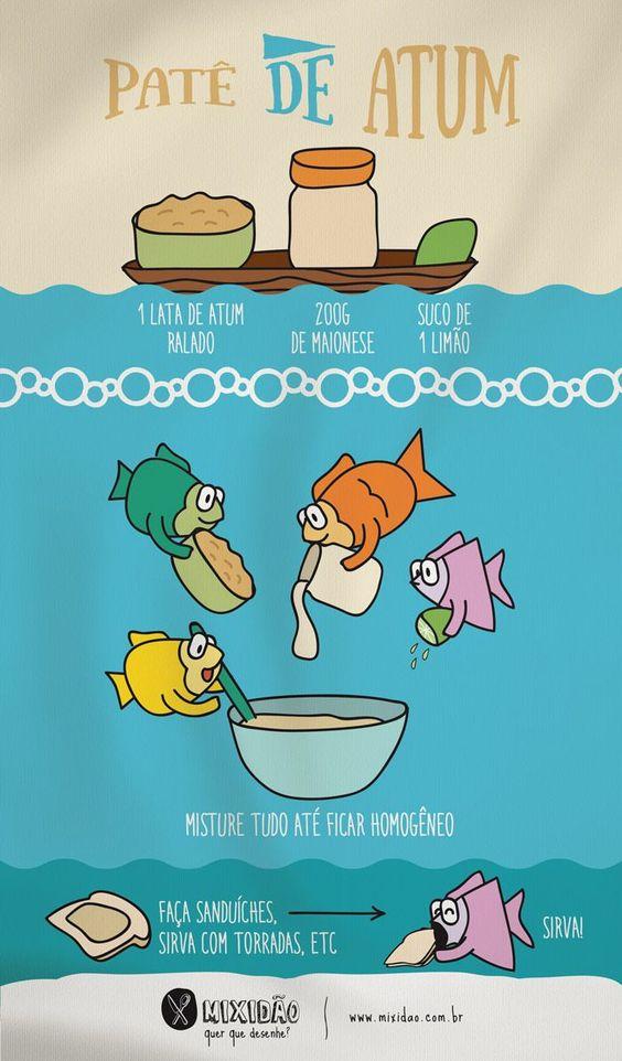Patê de atum