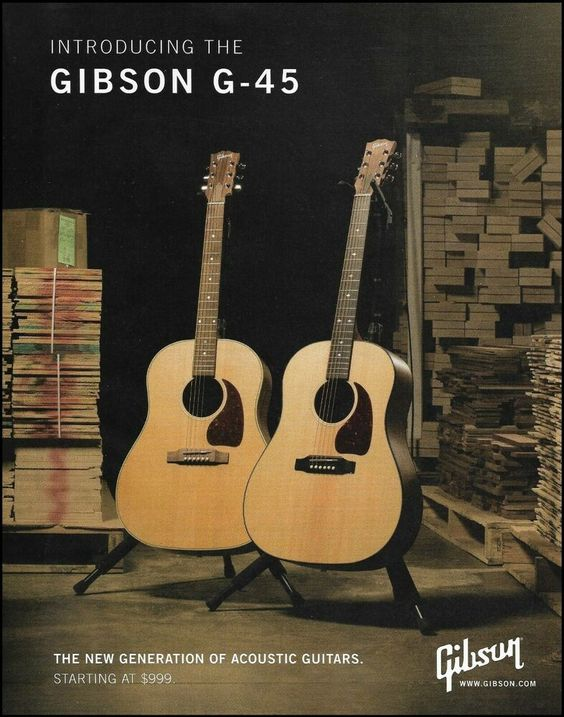 Pin On Gibson Guitar Advertisement Ad Print Pin Up Photo