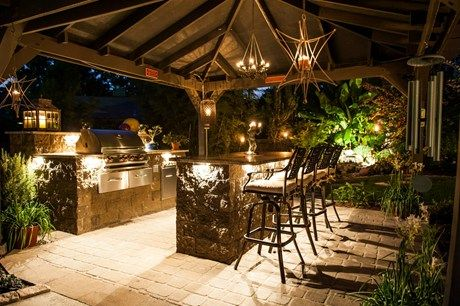 Pinterest the world s catalog of ideas for Small backyard outdoor kitchen