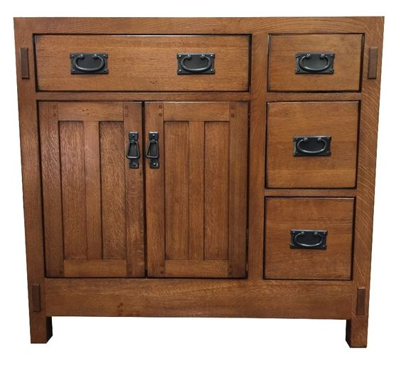 American Craftsman 36 Bathroom Vanity Base Products Pinterest 36 Bathroom Vanity