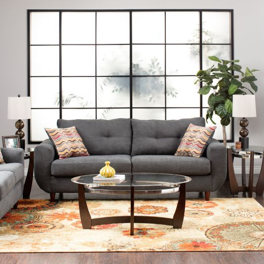 Jeromes Furniture Offers The Natalie Living Room Collection