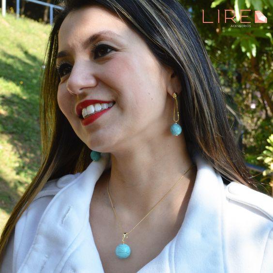 30 de Setembro - Dia da Secretária Que tal presentear sua profissional que te ajuda tanto?! Um belo conjunto de Pedra Natural Turquesa deixará ela mais elegante e sofisticada! Whatsapp 11 95249-6050 www.lireacessorios.com.br #Acessorios #Semijoias #Moda #LookDoDia #LireAcessorios #AmoLire #InstaJoia #FolheadoaOuro #Tendencia #Estilo #Folheados #Tendencia #EuQuero #ConjuntoDePedraNatural #Brinco #Colar #Turquesa