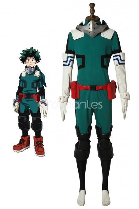 My Hero Academia Midoriya Izuku Cosplay Costume Comic Con Male Outfit