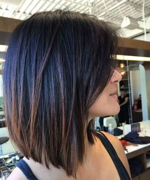 Incredible Shoulder Length Hairstyles For Women That Would Make You Look Young Shorthairstyl Bob Hairstyles For Thick Thick Hair Styles Haircut For Thick Hair