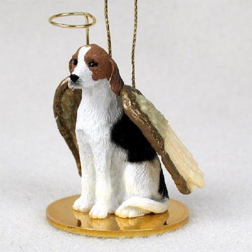 American Foxhound Angel Ornament