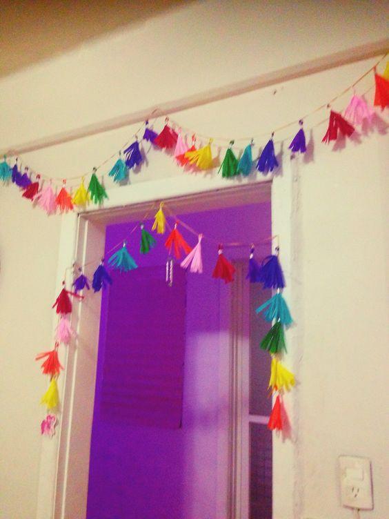 Guirnaldas para decoraci n de my little pony rainbow - Decoracion de guirnaldas ...