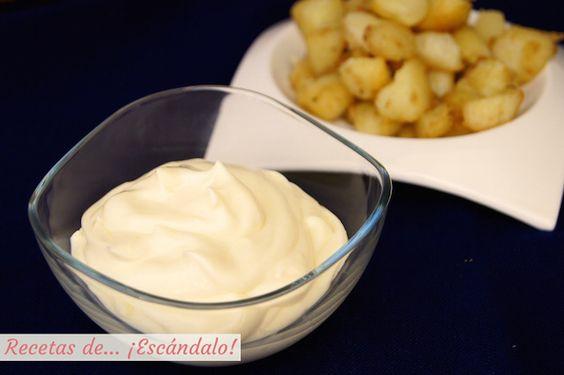 Cómo hacer mayonesa casera. Receta con todos los trucos!