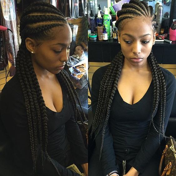 #cornrows #braids: