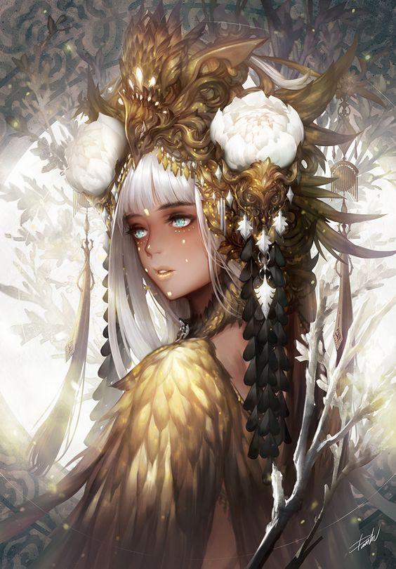 ArtStation - gold, Danhu Moon