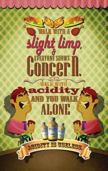 Digene: Slight limp