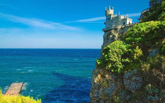 The Swallow's Nest  \\ Ukraine. Crimea. Yalta.