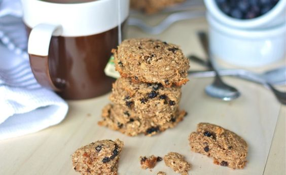 I forgot about these amazing cookies until I just saw someone pin them!! Paleo Breakfast Cookies. You can throw in any dried fruit (or go crazy and use chocolate chips) for a healthy and quick breakfast.