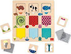 Goula - Puzzle texturas, colores y transparencias (53130)
