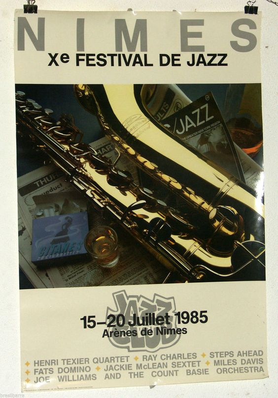 FESTIVAL DE JAZZ DE NIMES 1985