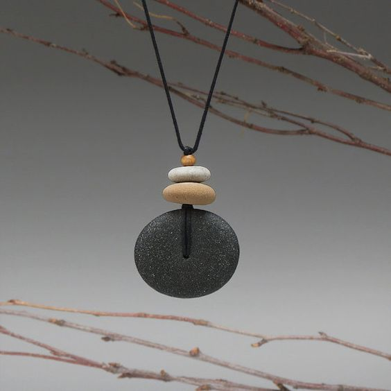 Hey, I found this really awesome Etsy listing at https://www.etsy.com/listing/191915920/beach-stone-necklace-a-personal-talisman