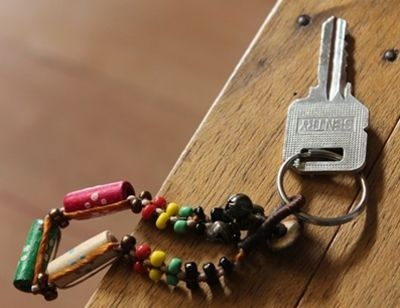 What sort of key ring do you have?