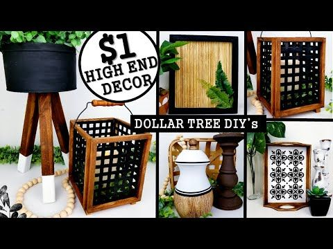 683 1 Diy Home Decor Ideas Dollar Tree Diy S 2020 Anthropologie Inspired Youtube In 2020 Diy Dollar Tree Decor Dollar Tree Diy Dollar Tree Diy Crafts