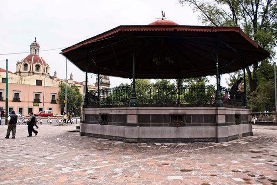 Kiosco de la Alameda Central, Centro Histórico de la Ciudad de México