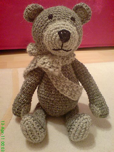 Free pattern, Bear patterns and Pattern library on Pinterest