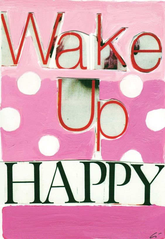 30 juni - Wake up Happy :-) Vacation :-) // Each day one pin that reflects our day