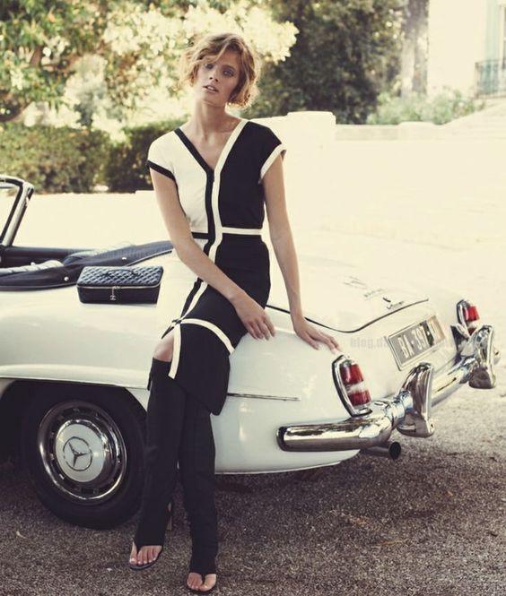 Photo of Constance Jablonski Mercedes Benz - car