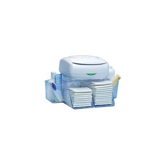 Dresser Top Diaper Depot, Clear