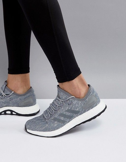 adidas performance PureBoost in gray bb6278 | Sneakers