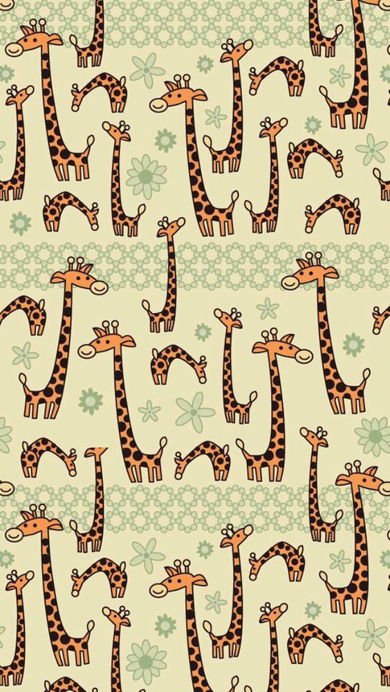 Cute Giraffe Iphone Wallpaper Background Iphone