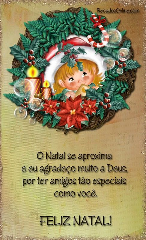 O natal se aproxima e eu agradeço muito a deus…