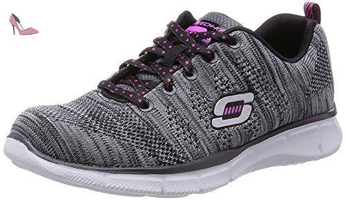 Skechers , Chaussures de ville à lacets pour homme noir noir 39.5 -  Chaussures skechers (*Partner-Link) | Chaussures Skechers | Pinterest