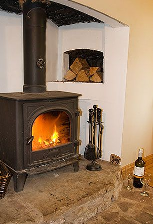 Real wood fire - Hay cottage