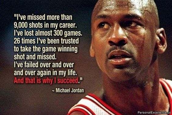 ~ Michael Jordan Growth Mindset