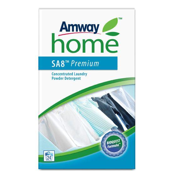 Detergente en Polvo Concentrado SA8™ Premium   Amway Nuestro detergente para ropa más vendido incluye la exclusiva BIOQUEST FORMULA, a base de oxígeno activo y bio-enzimas. Ofrece las potentes cualidades limpiadoras y de eliminación de manchas que los clientes valoran y esperan, y ahora es más sostenible que nunca. www.amwzy.es/user/beatrizrodriguez