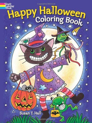 Happy Halloween Coloring Book (Dover Holiday Coloring Book) @ niftywarehouse.com #NiftyWarehouse #Halloween #Scary #Fun #Ideas