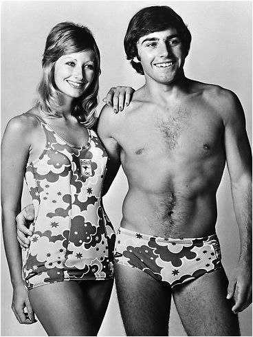 1972 Olympic swimwear for Australian athletes