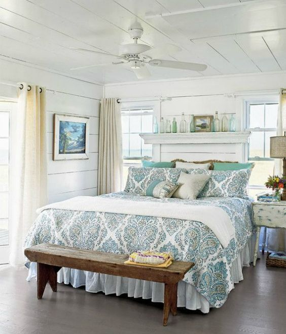 Six Ideas for Coastal Bedrooms: