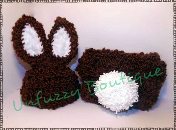 Free Crochet Pattern For Bunny Ears And Diaper Cover : Pinterest The world s catalog of ideas