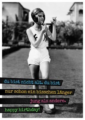 Vintage Foto Postkarte Frau Im Football Outfit | Happy Birthday | Pinterest | Geburtstag ...