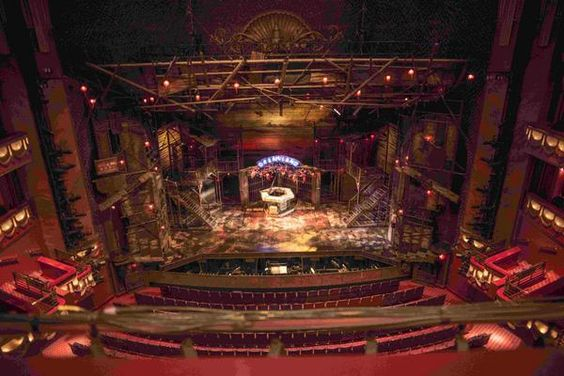 Live Life Dramatically Apparel By Ludlam Dramatics: Prince Edward Theatre View From Seat