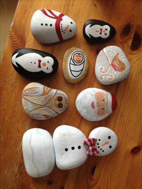 These would definitely be a good addition to the Christmas hampers! I even have a bag of pebbles waiting to be painted..: