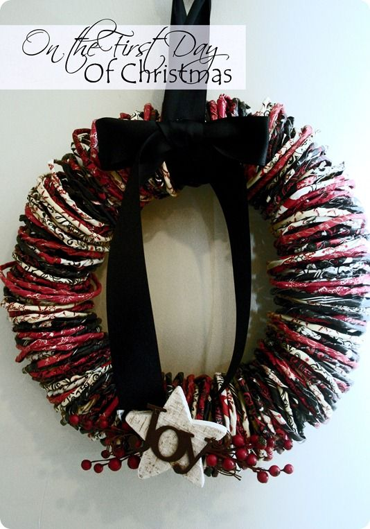 One paper wreath